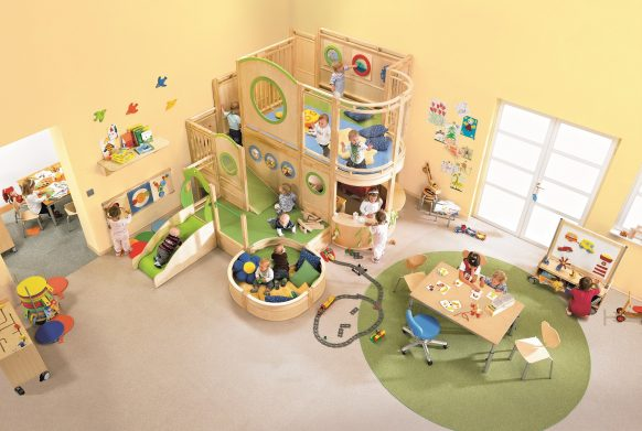 Plutar speelhuizen, om binnen lekker samen te spelen