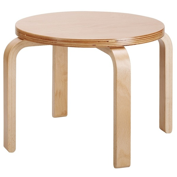 Stapelkruk van hout zithoogte 26 cm plutar for Meubilair basisschool