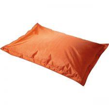 Groot ligkussen in de kleur oranje voor buiten. Geschikt voor de basisschool of BSO.