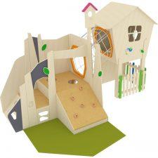 speelhuis voor het kinderdagverblijf
