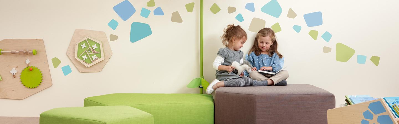 Kindvriendelijke inrichting wachtruimte