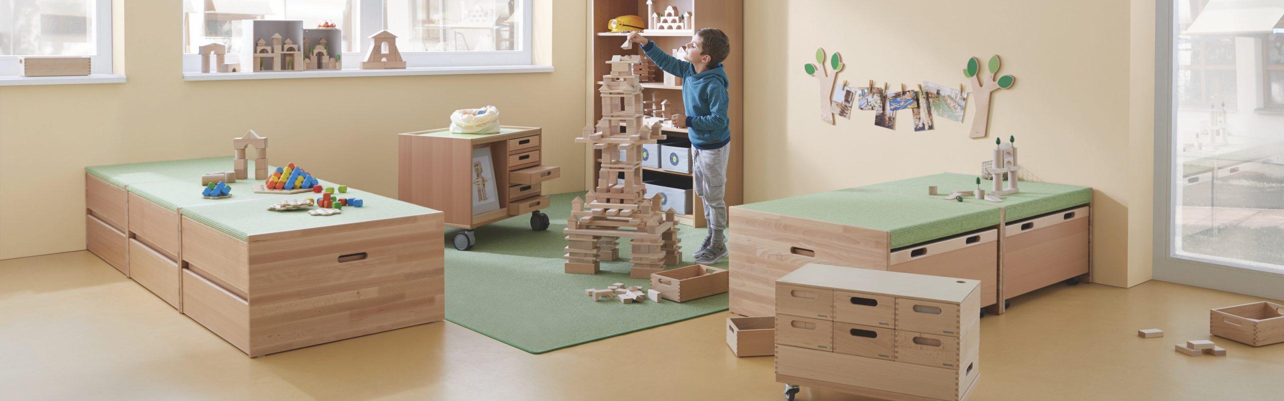 meubels voor de kinderopvang